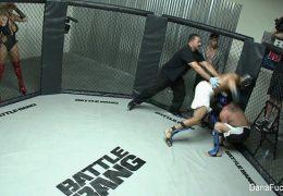 Dana gets fucked MMA Style 6 min