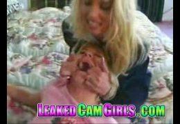 Teen Babysitter gets Caught Masturbating then Punished