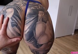 BIG TIT Thick Big ASS Step MOM Titty and Pussy Fucking Hard While Wearing SEXY Blue Lingerie Then Takes TEENS Massive CUM Shot – Melody Radford