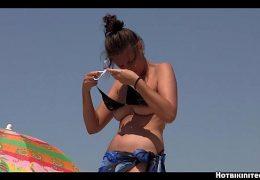 Topless Beach teens Voyeur HD Video spy