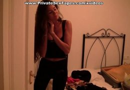 Public amateur fucking on a wild night out scene 1